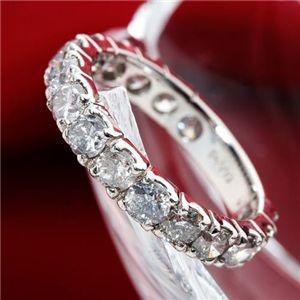 【全商品オープニング価格 特別価格】 2ctエタニティダイヤリング 指輪 鑑別付き 13号, リッチキャンドル e9099183