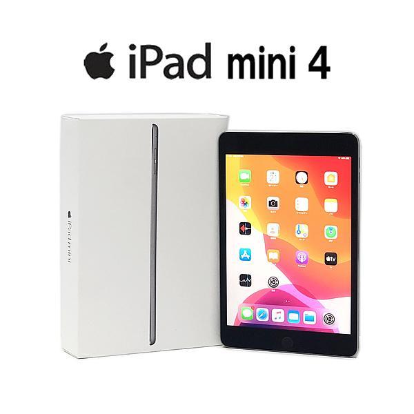 Bランク iPad mini 4 Wi-Fiモデル A1538 FK9N2J/A 128GB 7.9インチ スペースグレイ 中古 タブレット Apple|p-pal