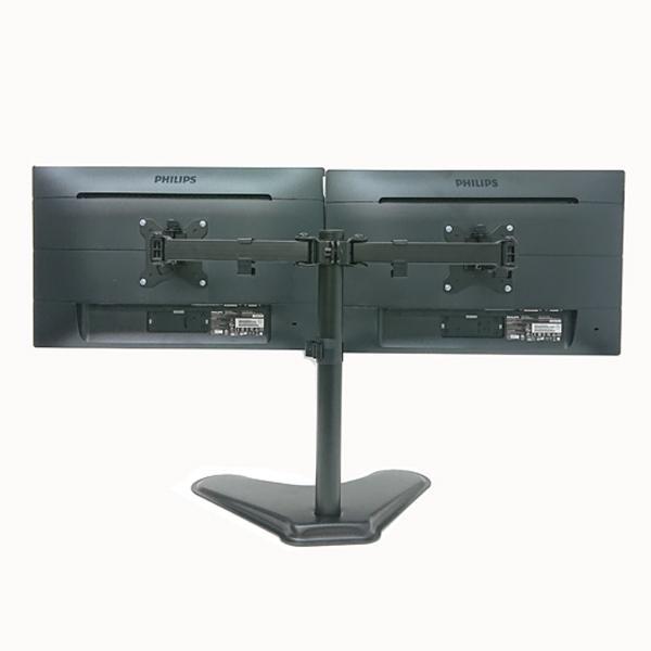 Bランク デュアルモニター 株 トレーダー用 221S6QHAB/11 アナログ[D-sub15] デジタル[DVI] HDMI 21.5インチ 2台 新品モニターアーム付 中古 液晶 ディスプレイ|p-pal|03