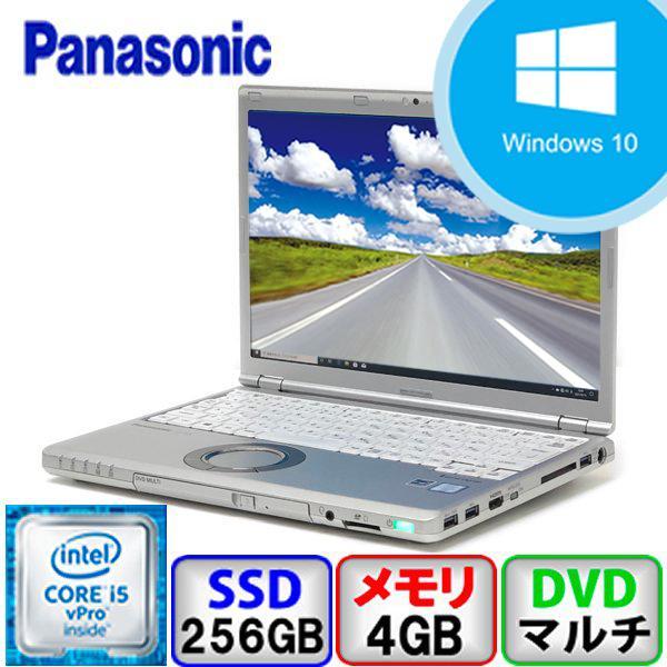 Bランク Panasonic Let's note CF-SZ5 CF-SZ5PDC5S Win10 Pro 64bit Core i5 2.4GHz メモリ4GB SSD256GB DVD 中古 ノート パソコン PC|p-pal