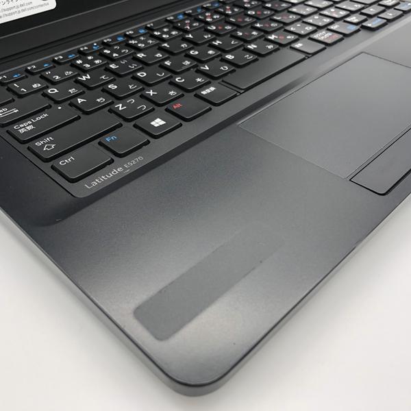 Bランク  シール跡あり DELL Latitude E5270 P23T Win10 Core i7 メモリ8GB SSD128GB Bluetooth Office付 中古 ノート パソコン PC p-pal 10