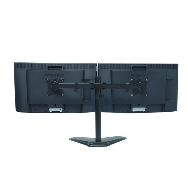 Bランク デュアルモニター 株 トレーダー用に便利 Diamondcrysta WIDE RDT233WLM アナログ[D-sub15]  デジタル[DVI] HDMI 23インチ 2台 中古 液晶 ディスプレイ p-pal 02