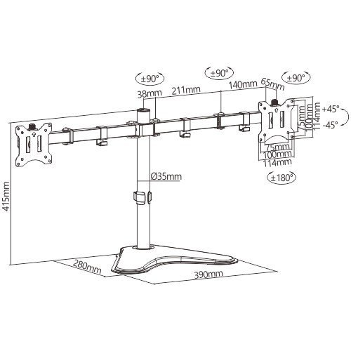 Bランク デュアルモニター 株 トレーダー用に便利 Diamondcrysta WIDE RDT233WLM アナログ[D-sub15]  デジタル[DVI] HDMI 23インチ 2台 中古 液晶 ディスプレイ p-pal 04