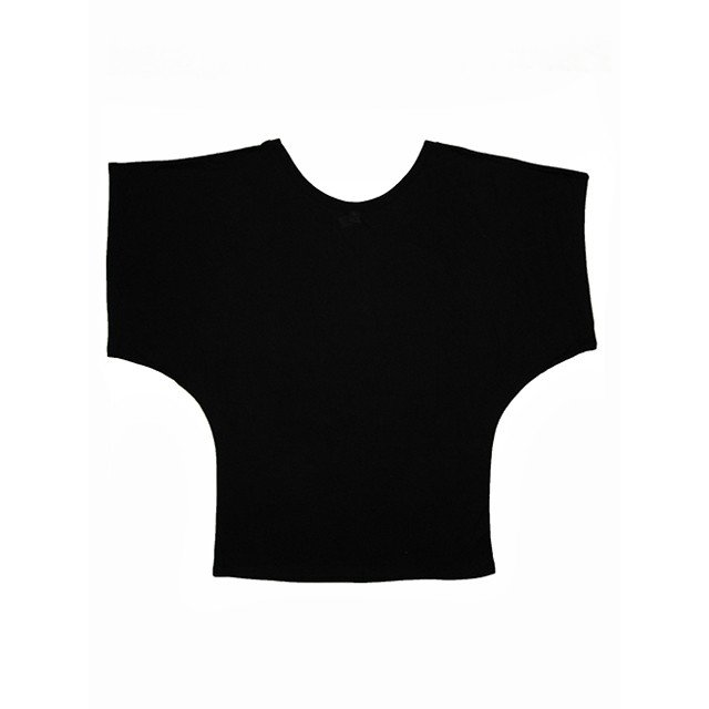 ROCO's ドルマンTシャツ レフア(ブラック) p-para 02