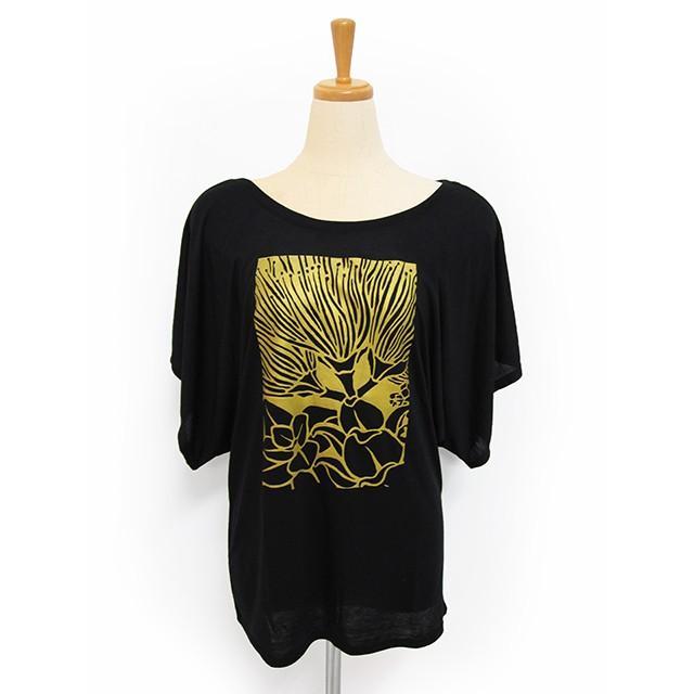 ROCO's ドルマンTシャツ レフア(ブラック) p-para 03