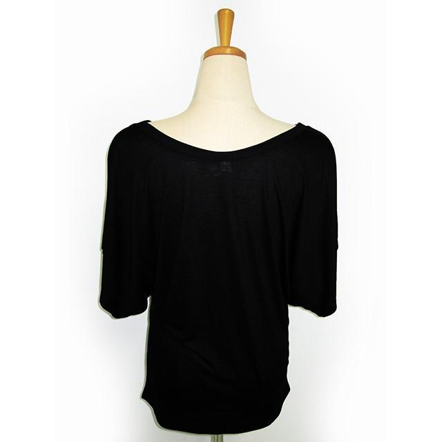 ROCO's ドルマンTシャツ レフア(ブラック) p-para 05