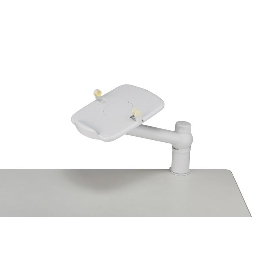 BUFFALO テレホンスタンド 卓上用 アームタイプ ホワイト BSTS01|p-park