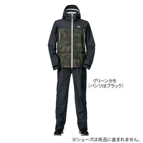 ダイワ(Daiwa) レインマックス デタッチャブルレインスーツ DR-30009 XL グリーンカモ
