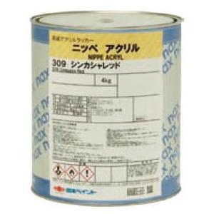 ニッペアクリル G色,7分艶_4kg 日本ペイント 塗料