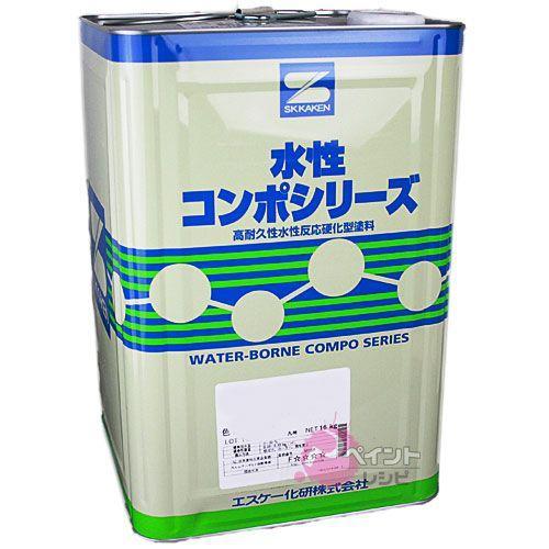 水性弾性コンポウレタン濃彩_16kg エスケー化研 塗料