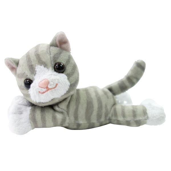 最安値で  OM-10SC〔×3セット〕 杖小物 (まとめ)マキテック (3)サバトラ猫 おでかけマスコット-介護用品