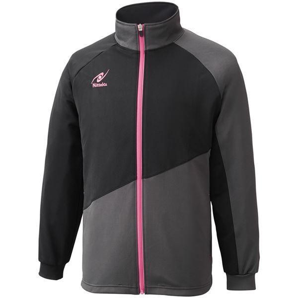 ニッタク(Nittaku)卓球アパレル TRAINING SL SHIRT(トレーニングSLシャツ)男女兼用 NW2854 ピンク SS