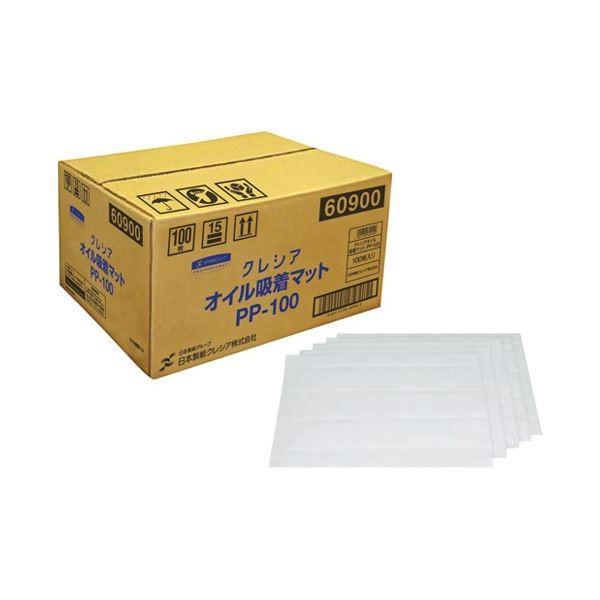 (まとめ)日本製紙クレシア クレシア オイル吸着マット PP-100 100枚〔×5セット〕
