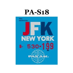 パンナム ステッカー PA−S18 贈答品 在庫一掃