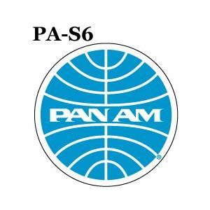 パンナム 日本メーカー新品 激安 激安特価 送料無料 ステッカー PA−S6