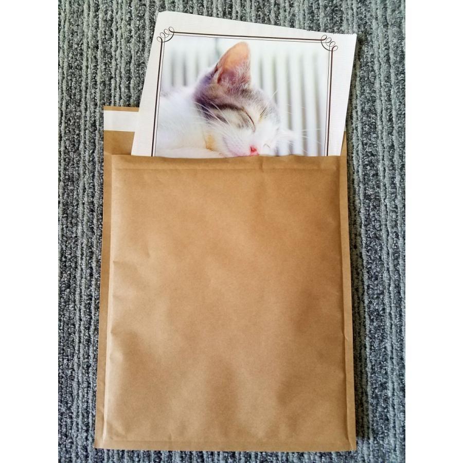 プチプチ 封筒 テープ付き 茶紙 クッション セフティーライト -3 225mm×272mm 300枚 B5 書類 ファイル 本 雑誌 川上産業 メーカー直送 代引き不可