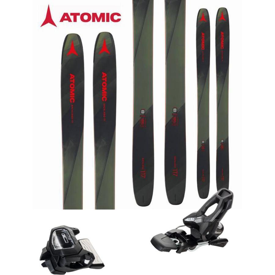 【送料込】 ATOMIC アトミック 18-19 スキー BACKLAND 2019 BACKLAND 117 GW (チロリア アタック11 117 GW 金具付き 2点セット) パウダー ロッカー (one):BACKLAND117SET, 西洋美術屋:312a170f --- airmodconsu.dominiotemporario.com