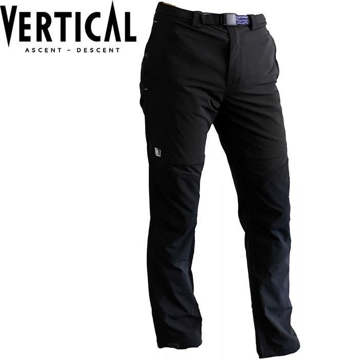 VERTICAL ヴァーティカル Cooltrek Pant 〔2018SS 登山 アウトドア パンツ 〕 (黒):VLHMP03H