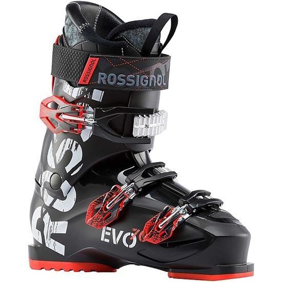ROSSIGNOL ロシニョール 18-19 スキーブーツ 2019 EVO 70 黒/赤 エヴォ 初級 入門 ソフトフレックス: