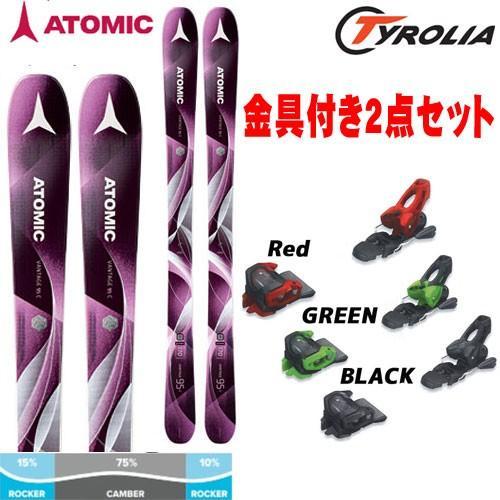 超格安一点 ATOMIC アトミック ATTACK2 17-18 スキー ski ski 2018 VANTAGE 95 [+ATK11] C W ヴァンテージ95C W + チロリア ATTACK2 11 GW [金具付き] [+ATK11] [2018pt0], イマダテチョウ:74c3660d --- airmodconsu.dominiotemporario.com
