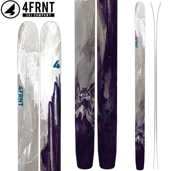 4FRNT フォーフロント 18-19 SKI 2019 スキー ホジ HOJI W (板のみ) パウダー ビッグマウンテン レディース: