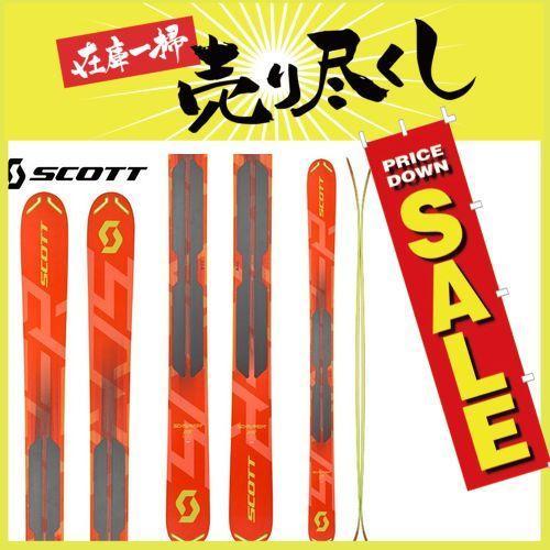 18-19 スコット SCOTTスクラッパー 115 SCRAPPER 115 スキー パウダー バックカントリー 2019 :1102028