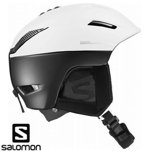 SALOMON サロモン 2019 ヘルメット RANGER2 C.AIR /白い 黒 スキー スノーボード:L391245