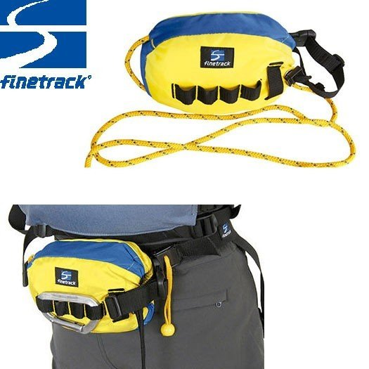 finetrack ファイントラック ゴージュバッグ25 Col:YL/BL アウトドア 釣り キャンプ ロープ :FWG0107
