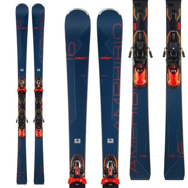 ELAN エラン 19-20 スキー 2020 AMPHIBIO 16Ti Fusion X アンフィビオ16Ti (金具付き) オールラウンド デモ スキー板: