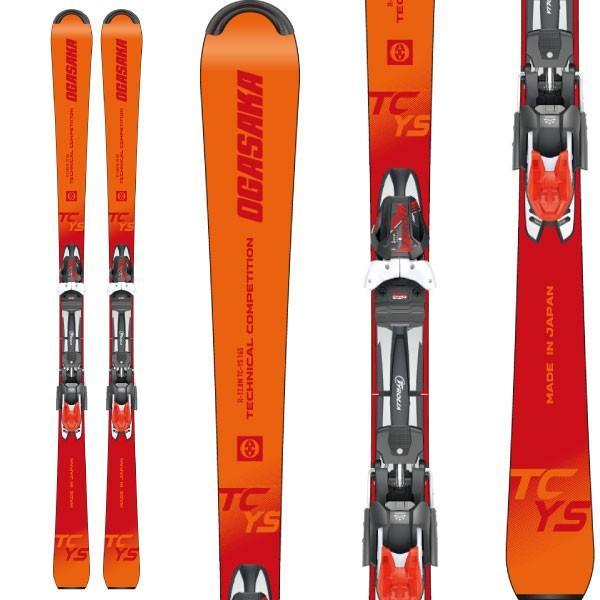 2019新作モデル OGASAKA オガサカ 19-20 スキー 2020 TC-YS (金具付き) スキー板 デモ ショート ジュニア (onecolor):, カスガシ b1732f1a