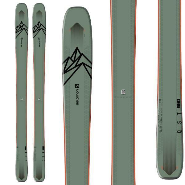 宅配 SALOMON サロモン 19-20 スキー 2020 QST 106 クエスト 106 (板のみ) スキー板 パウダー ロッカー (onecolor):, バッグ財布革小物ZeroGravity 732127e8