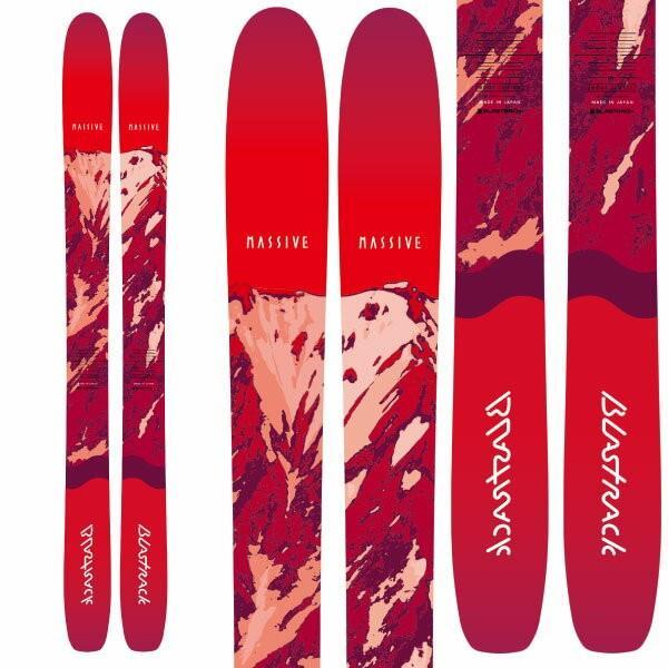 【オープニング大セール】 BLASTRACK ブラストラック 19-20 スキー スキー板 2020 MASSIV マッシブ (板のみ) MASSIV スキー板 (板のみ) パウダー ロッカー:, 会津本郷町:5801106d --- airmodconsu.dominiotemporario.com