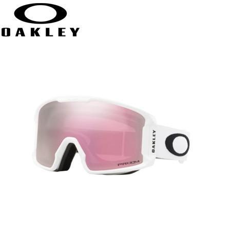 OAKLEY オークリー 19-20 LINEMINER XM Matte 白い ゴーグル スキー スノーボード スノーゴーグル (Hiピンク):007093-11