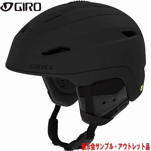 GIRO ジロー 19-20 ヘルメット (アウトレット) 2020 ZONE MIPS Matte Graphite ゾーンミップス スキーヘルメット メンズ MIPS カメラ取付可: