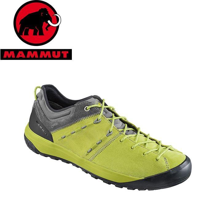 MAMMUT マムート Hueco Low GTX Men メンズ アプローチ シューズ 靴 2019 SS (darkcitron-grey):3020-06110