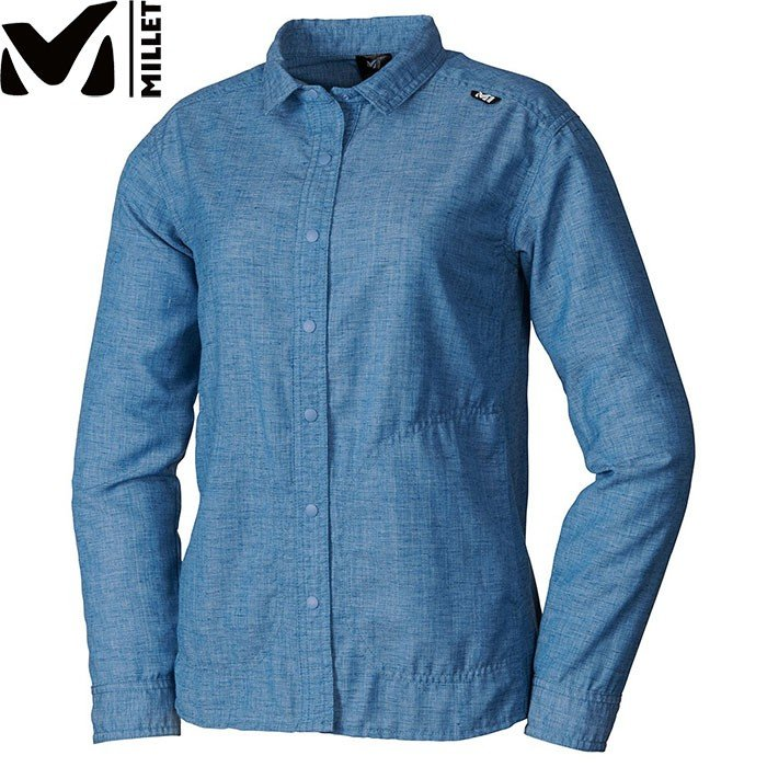 MILLET ミレー LD FURCIA HT SHIRT シャツ ロングスリーブ 2019SS アウトドア レディース (COSMIC-BLUE):MIV01705