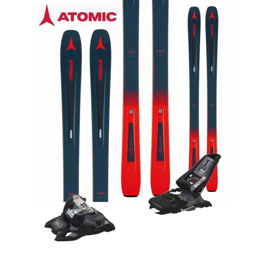 注文割引 ATOMIC アトミック 18-19 スキー 2019 VANTAGE 97 C (マーカー SQUIRE 11 ID 金具付き 2点セット) オールマウンテン (one):VANTAGE97CSET, チタグン 1066a157