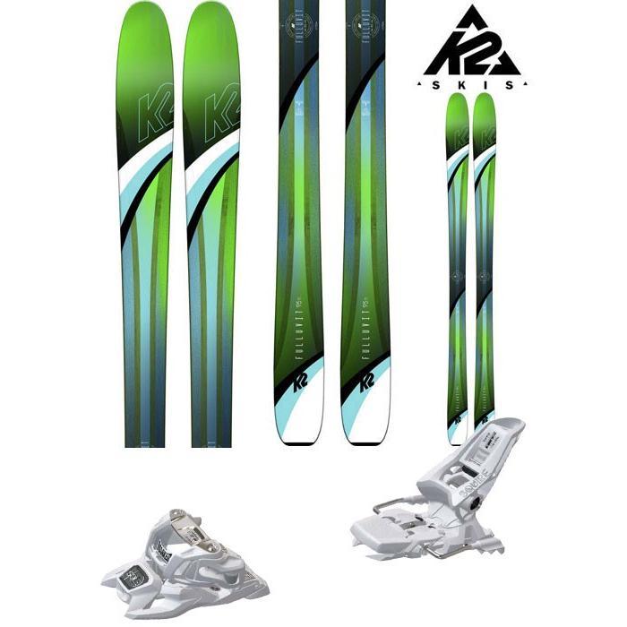 スペシャルオファ K2 パウダー 18-19 スキー Ski 2019 (ONE):FULLUVIT95TI_set FULLUVIT 95 TI (マーカー ID SQUIRE 11 ID 金具付き 2点セット) パウダー レディース (ONE):FULLUVIT95TI_set, まいどドラッグ:2c527c60 --- airmodconsu.dominiotemporario.com