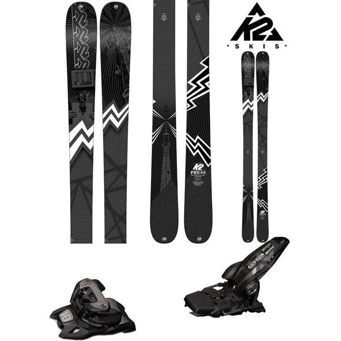 国内初の直営店 K2 13 18-19 プレス スキー Ski 2019 PRESS K2 プレス (マーカー GRIFFON 13 ID 金具付き 2点セット)フリーライド フリースタイル (ONE):PRESSset, 柳川市:4fcfc28d --- airmodconsu.dominiotemporario.com