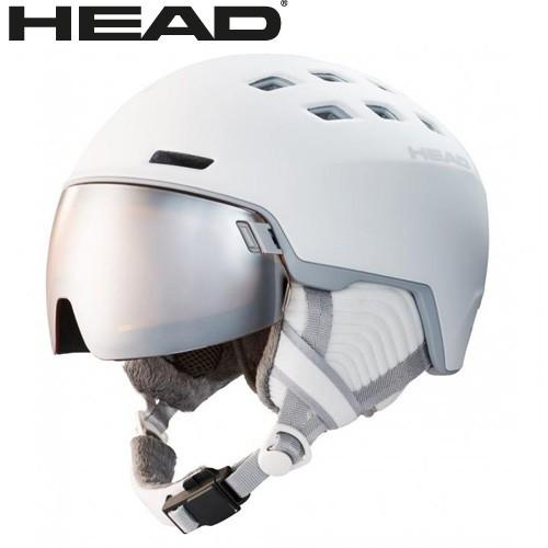 【一部予約販売】 HEAD ヘッド 19-20 ヘルメット RACHEL col:White スキー スノーボード ヘルメット バイザー付:323509, 園部町 c7136d77