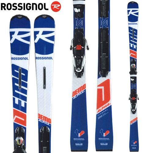 【ふるさと割】 ROSSIGNOL ロシニョール 18-19 スキー 2019 デモアルファ DEMO ALPHA Ti (KONECTプレート) + SPX 12 (金具付き) デモ 基礎:RAHLA04, ナカク a0f3fc52