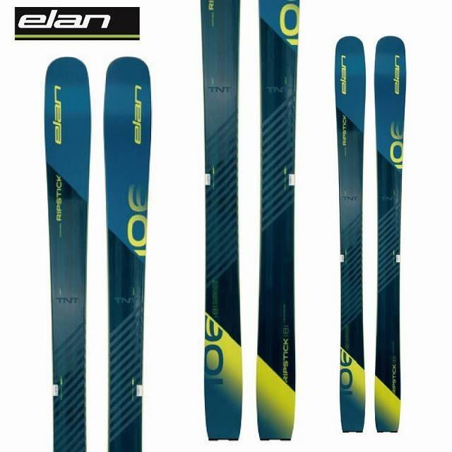 ELAN エラン 19-20 スキー Ski 2020 リップスティック 106 RIPSTICK 106 (板のみ) 軽量 パウダー 山スキー: