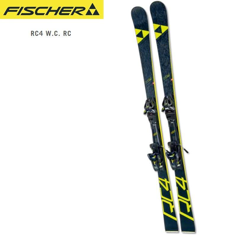 【国内正規品】 FISCHER フィッシャー 18-19 スキー Ski 2019 RC4 W.C. RC + RC4 Z12 GW (金具付き) マスターズ 大回り:, ウッディーストア A&K 4815f26f