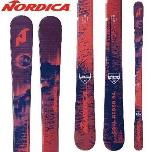 NORDICA ノルディカ 18-19 ski 2019 スキー ソウルライダー SOUL RIDER 84 (板のみ) オールマウンテン: