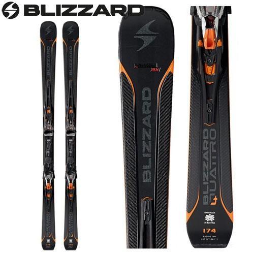 BLIZZARD ブリザード 17-18 ski 2018 スキー クアトロ RX QUATTRO RX (金具付き) 基礎 デモ オールラウンド (-):