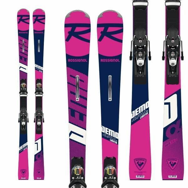 ROSSIGNOL ロシニョール 19-20 スキー 2020 DEMO ALPHA Ti LTD(R22) + (SPX12 金具付き) デモアルファ Ti リミテッド スキー板 :RAILA01