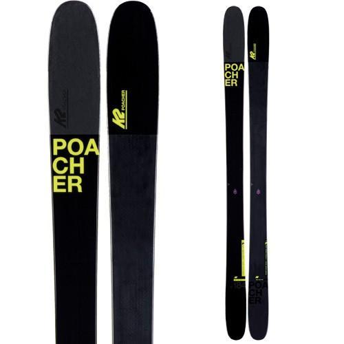 【ファッション通販】 K2 ケーツー 19-20 スキー POACHER ポーチャー(板のみ) スキー板 2020 フリースタイル フリーライド (onecolor):, 西彼町 b15226fc