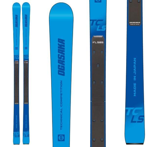 OGASAKA オガサカ 19-20 スキー 2020 TC-LS + FL585 (スキー+プレート) スキー板 デモ ロング (onecolor):
