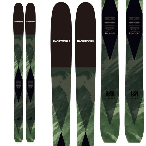 BLASTRACK ブラストラック 19-20 スキー 2020 VERSANT ヴァーサント (板のみ) スキー板 パウダー ロッカー: