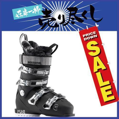 新しく着き ROSSIGNOL ロシニョール 19-20 スキーブーツ 2020 PURE PRO 80 ピュアプロ Black レディース オールラウンド (Black):, チョウセイグン c6c86508